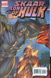 Skaar Son of Hulk #1 2nd Second Print Garney Variant